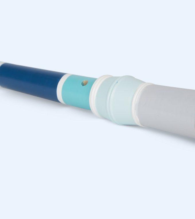 Medinė mėlyna fleita - dūdelė