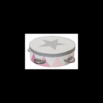 Medinis rožinis tamburinas