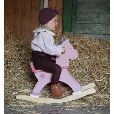 Supamas rožinis arkliukas Stella