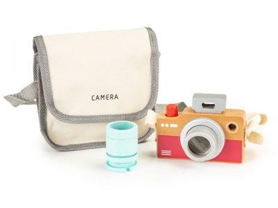 medinis vaikiskas fotoaparatas