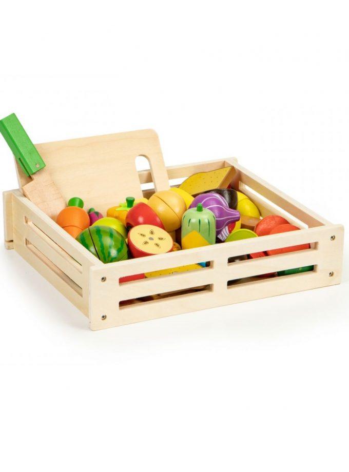 vaisių ir daržovių rinkinys