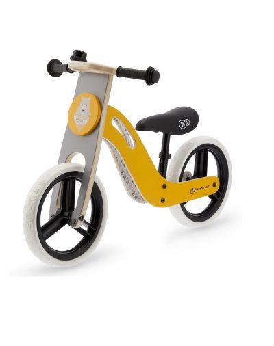 KINDERKRAFT balansinis dviratis, geltonas