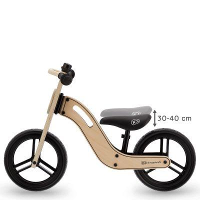 KINDERKRAFT balansinis dviratis, natūralios spalvos