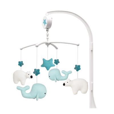 Muzikinė karuselė su banginiu ir lokiu