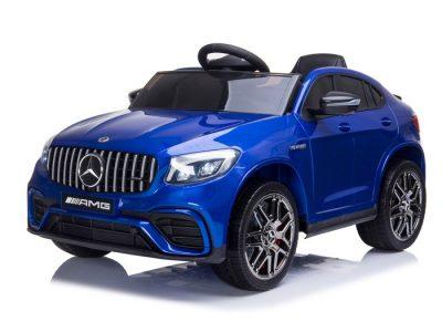 Elektromobilis Mercedes Benz GLC63 S mėlynas