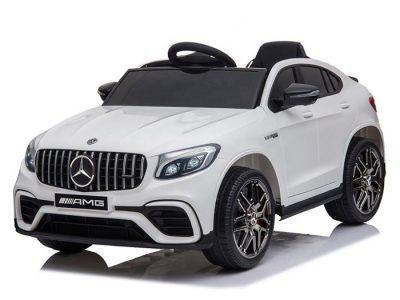 Elektromobilis Mercedes Benz GLC63 S baltas