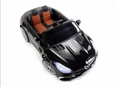 Elektrinis automobilis vaikams Mercedes-Benz sl65 AMG juodas