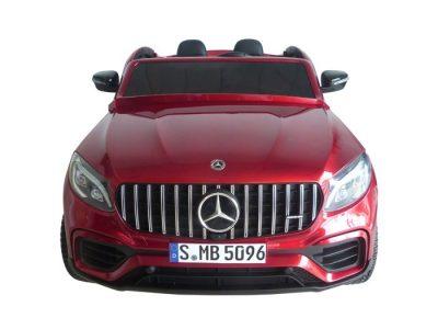 Vaikiškas elektromobilis Mercedes-Benz GLC 63 S raudonas