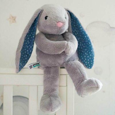 Whisbear migdukas Bunny grey
