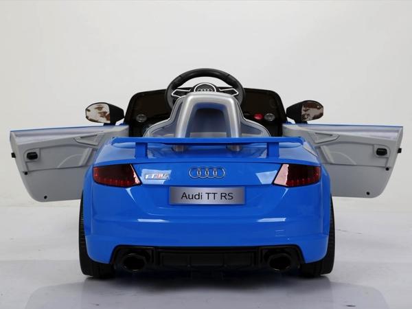 Elektromobilis vaikams Audi TT RS mėlynas