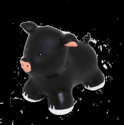 šokliukas juoda kiaulė