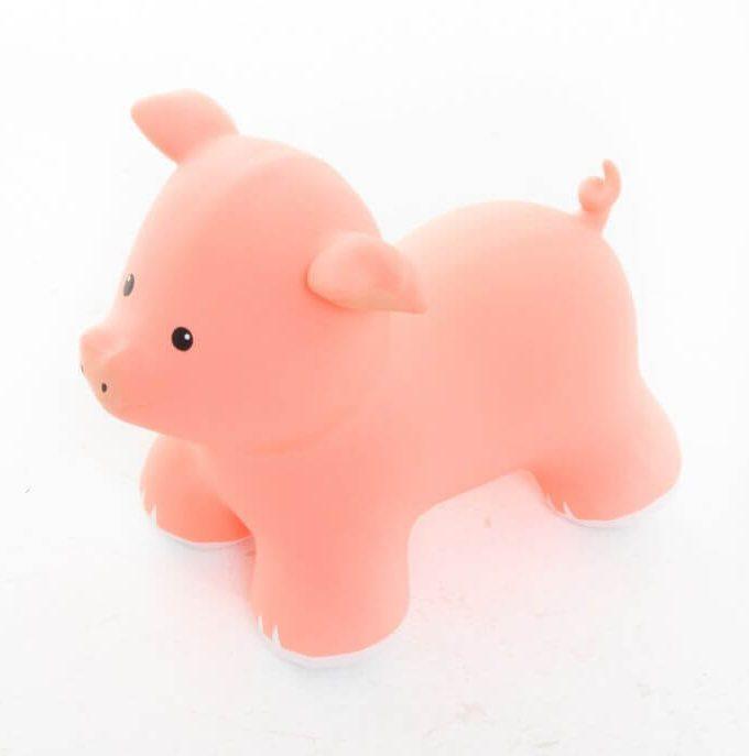 pripučiama kiaulė šokinėti