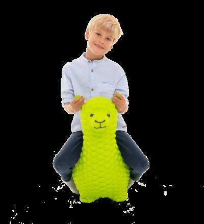žalia lama