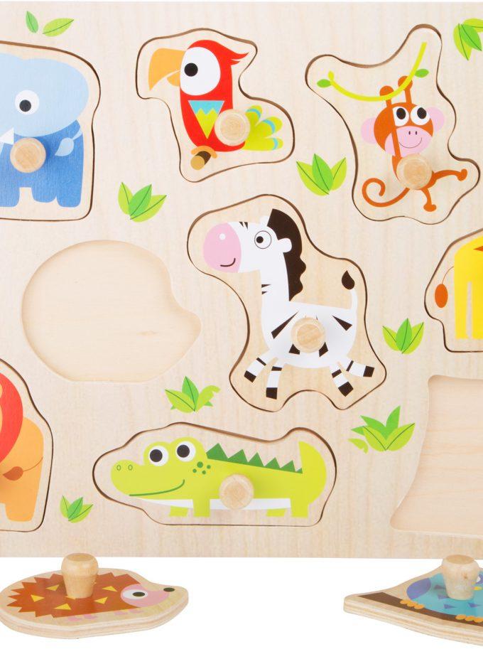medinė dėlionė puzzle vaikams