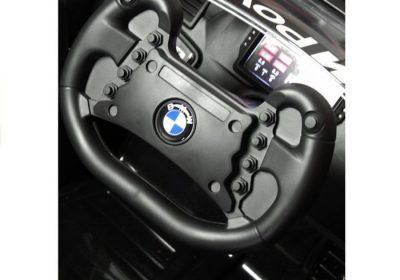 Vaikiškas elektromobilis BMW M6 juodas mpower