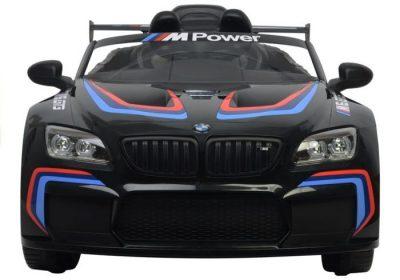 Elektromobilis BMW M6 juodas mpower vaikams