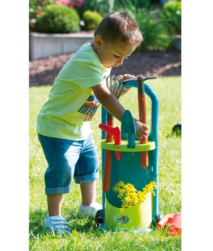 vaikiškas sodininko įrankių rinkinys