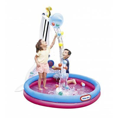 vaikiskas baseinas su fontanu