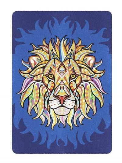 Dviejų dalių piešimo smėliu rinkinys Liūtas/Mandala