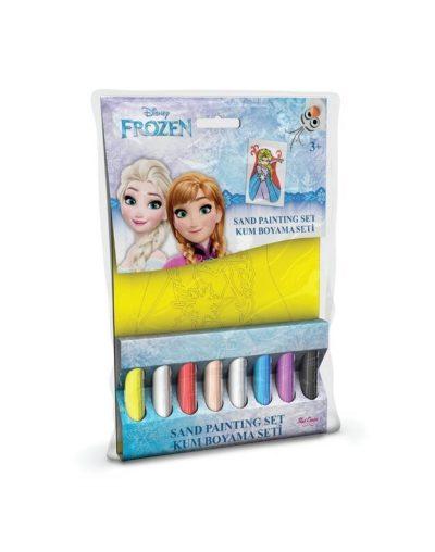 Mini spalvoto smėlio rinkinys Frozen