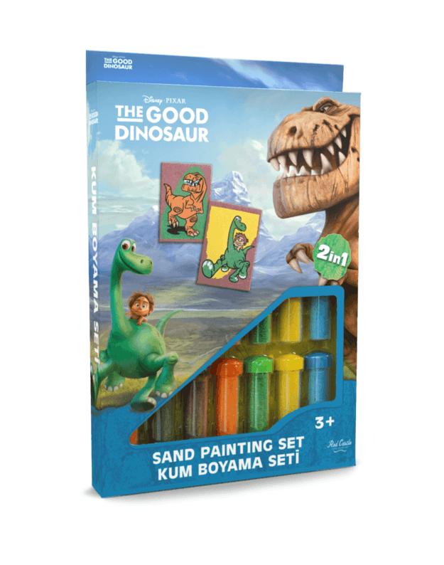 Spalvoto smėlio rinkinys Dinozaurai