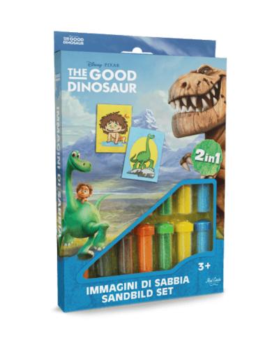Spalvoto smėlio rinkinys Dinozauras ir Berniukas