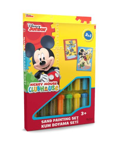 Spalvoto smėlio rinkinys Mikis ir Donaldas