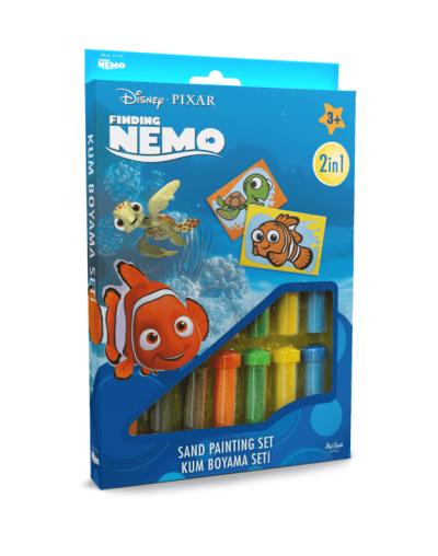 Spalvoto smėlio rinkinys Žuvytė Nemo