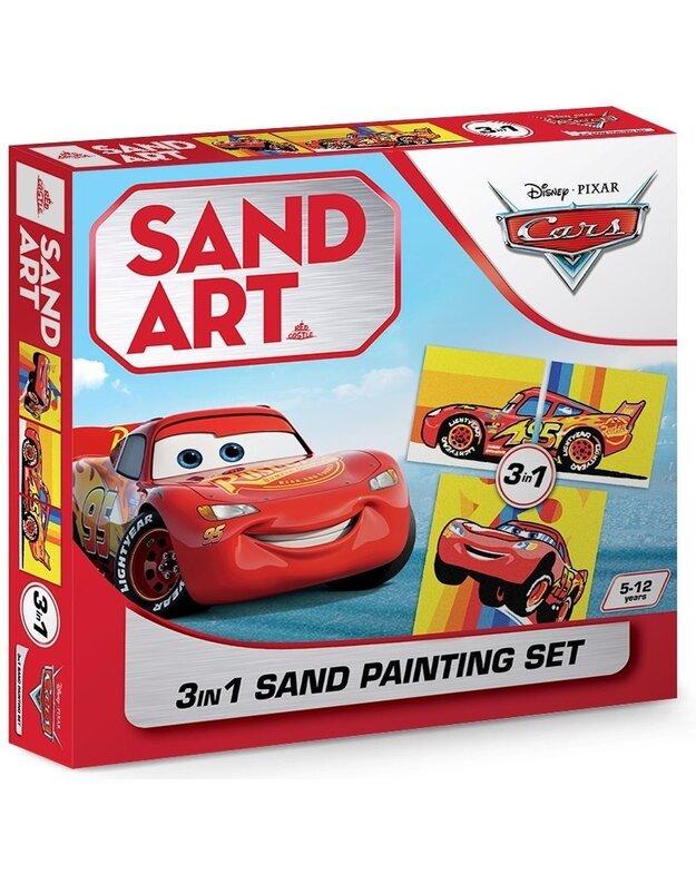 Trijų dalių piešimo smėliu rinkinys MAKVYNAS