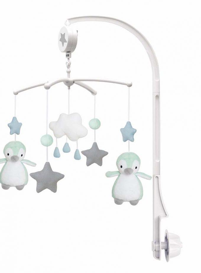 muzikine karusele su pingvinais